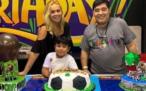 Qué dijo Verónica Ojeda tras los rumores de embarazo con Diego Maradona