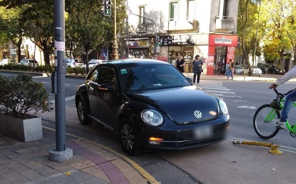 Festival de infracciones por mal estacionamiento