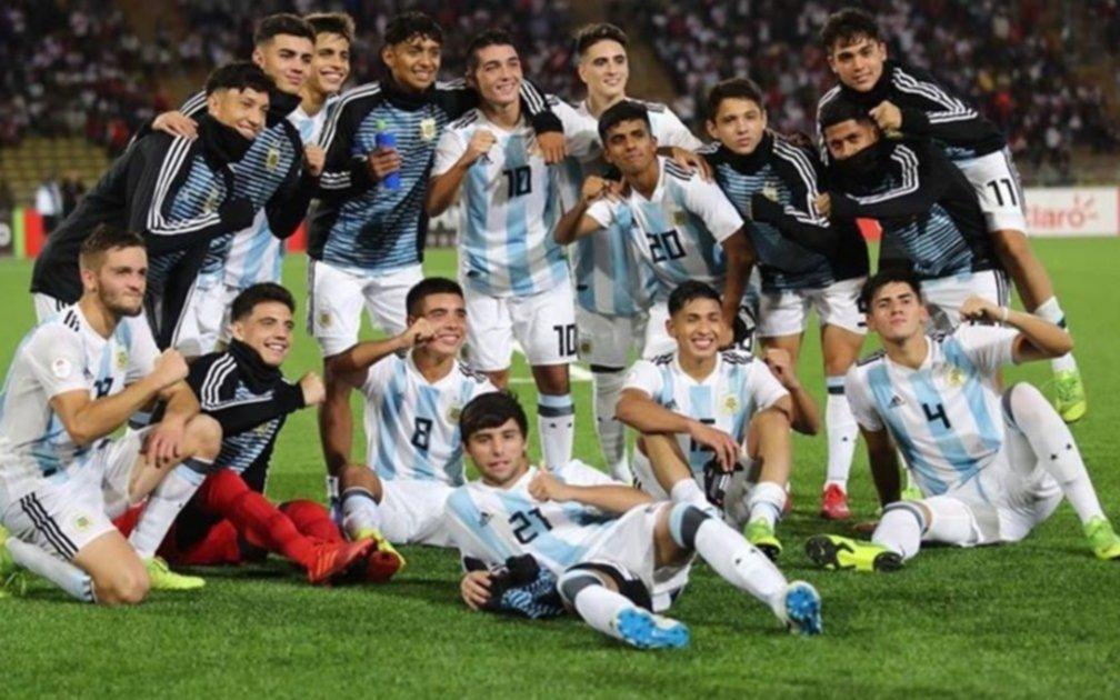 Con presencia pincha, el Sub 17 argentino es campeón Sudamericano