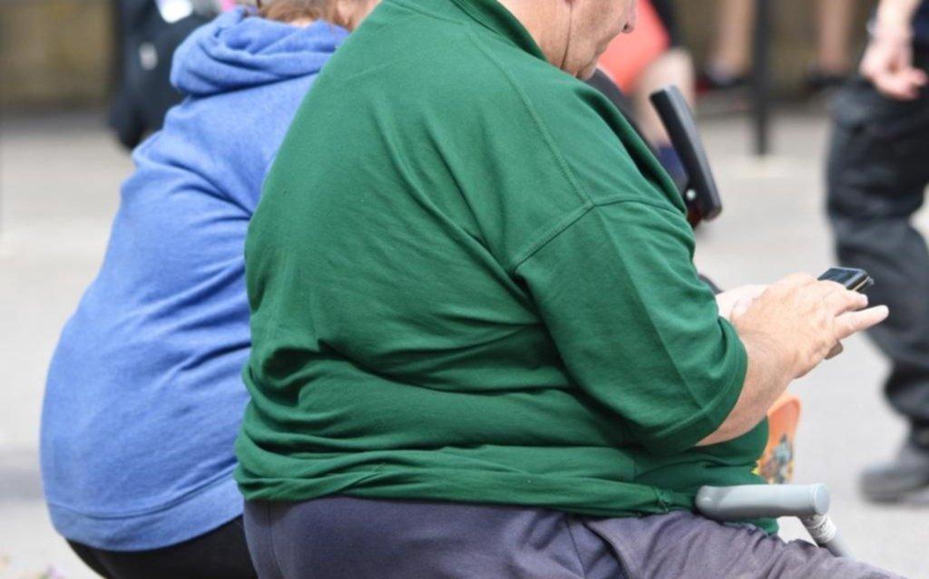 La población argentina con exceso de peso superó el 60 por ciento
