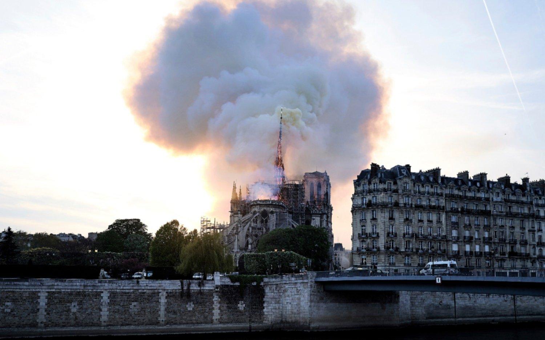 Lo que se sabe hasta el momento del incendio en Notre Dame