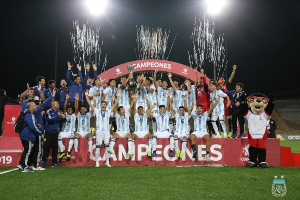 """En Perú, dan por seguro que el Sub-17 de Argentina """"pagó"""" la deuda por la Eliminatoria"""