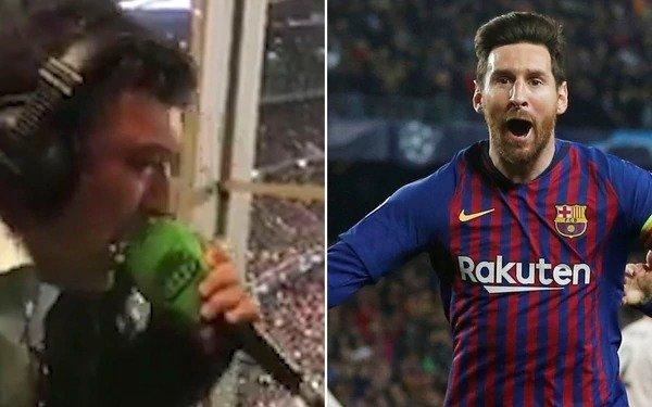 El relator radial que enloqueció con Messi y las tapas de los diarios ingleses