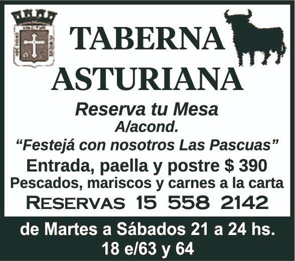 Pasá un gran momento en Taberna Asturiana