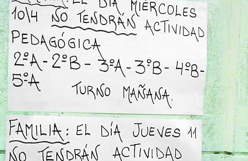 En Ensenada perdieron la mitad de los días de lo que va del ciclo lectivo