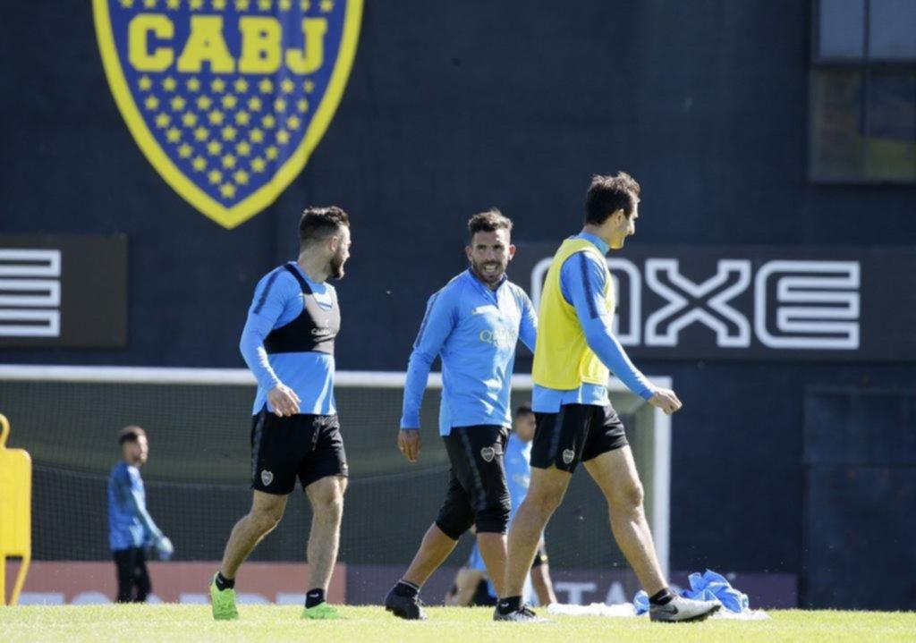 Tevez, baja para el debut del Xeneize en la Copa Argentina
