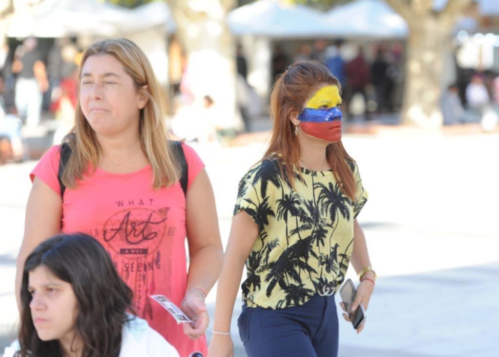 La cultura venezolana cautiva en Plaza Malvinas