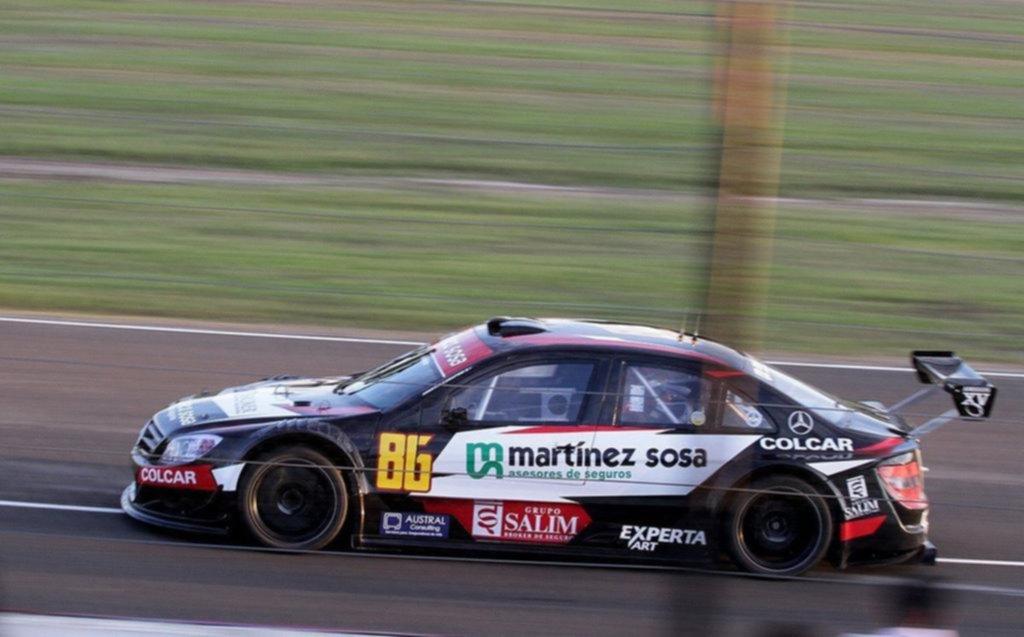 Agustín Canapino se quedó con la pole del Top Race en el circuito de Concordia