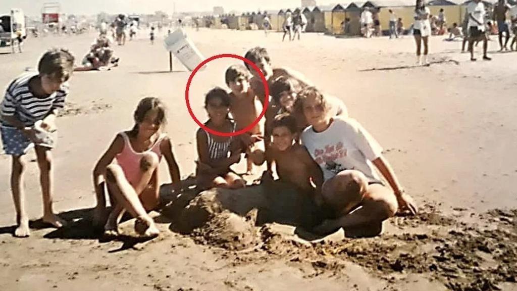 Una foto inédita de Messi y Antonela los muestra juntos en Mar del Plata a sus 10 años