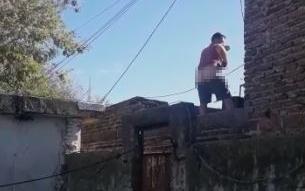 Del entredicho a las armas, un conflicto vecinal en La Loma dejó un detenido