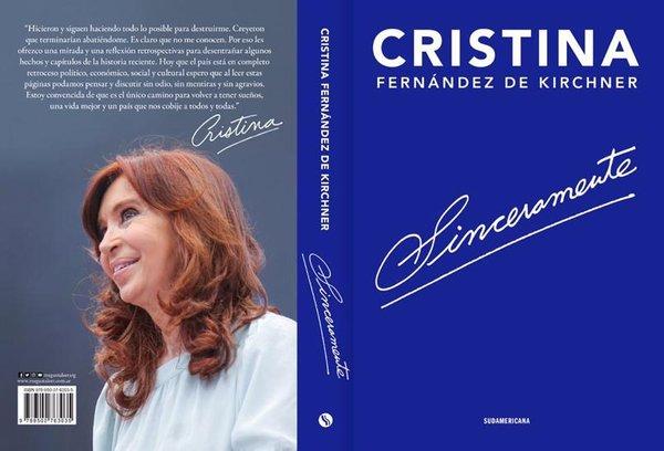 """""""Sinceramente"""", el libro donde Cristina habla de su vida y sus dos presidencias"""
