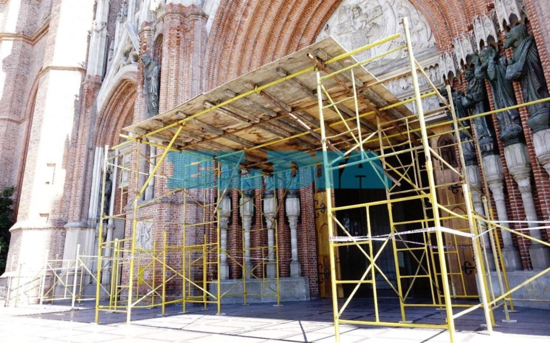 Destinarán $55 millones para obras en la Catedral de La Plata