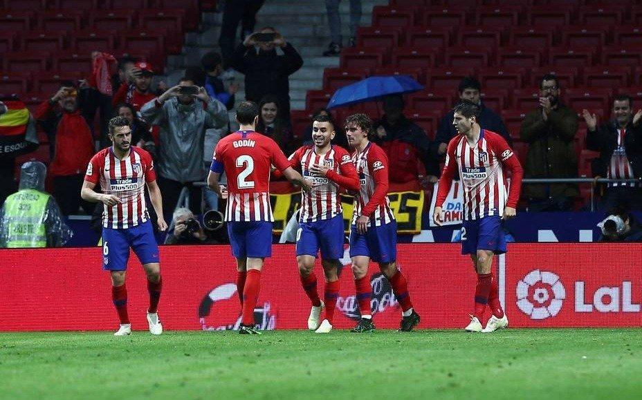 Ángel Correa le dio el triunfo al Atlético de Madrid