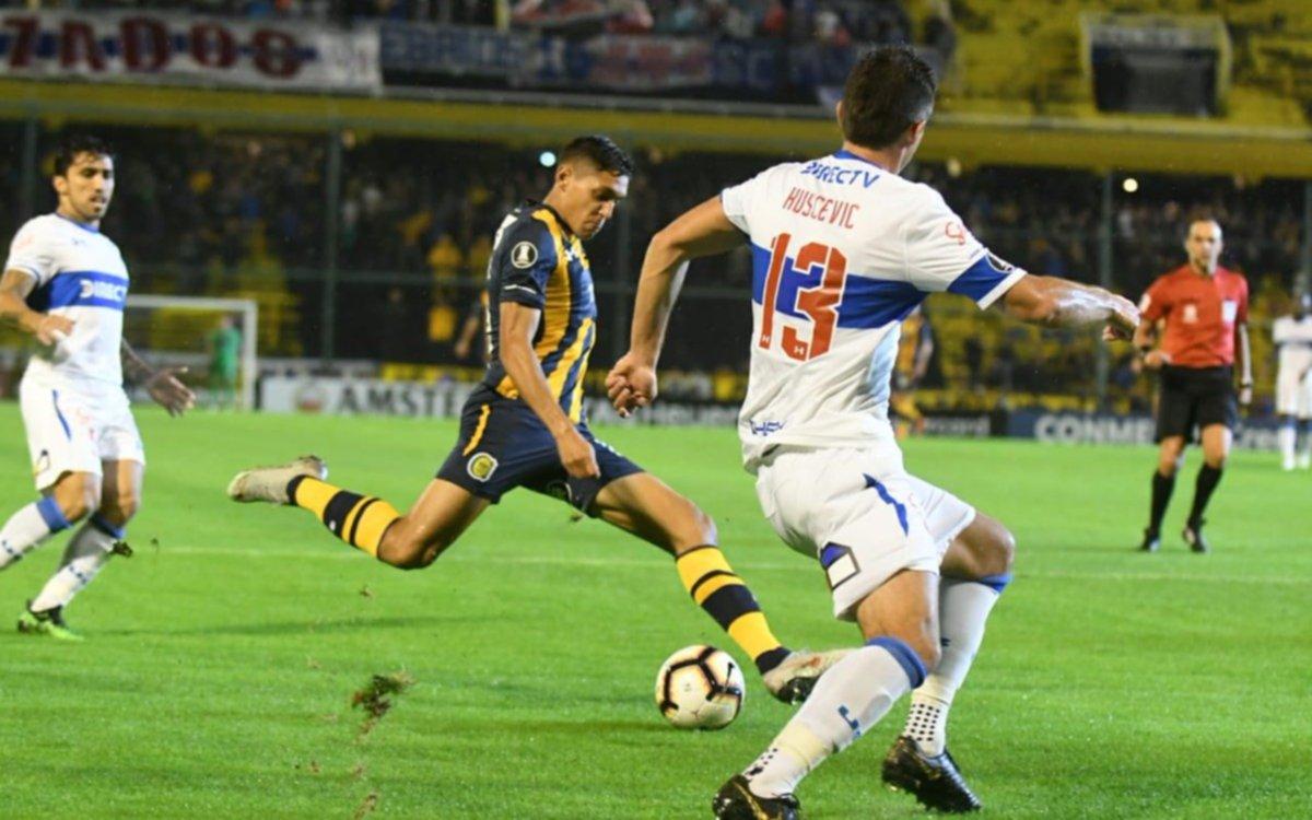 El Canalla empató con Universidad Católica y también quedó eliminado de la Sudamericana