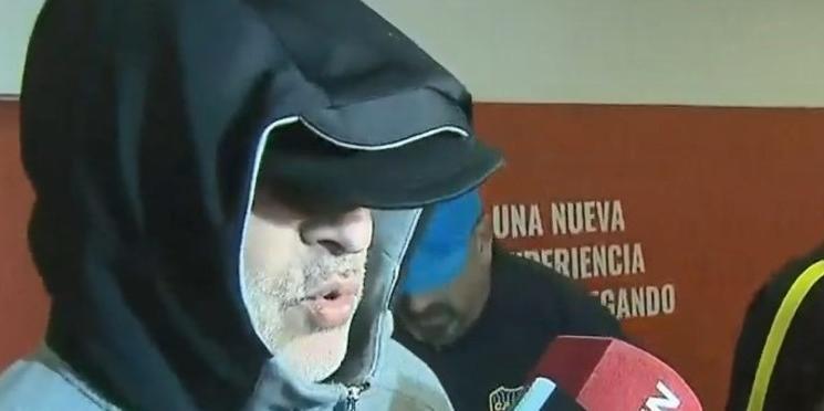 Rafael Di Zeo regresó al país camuflado y enojado