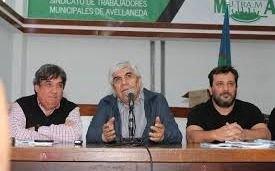 Acto de Moyano en La Plata