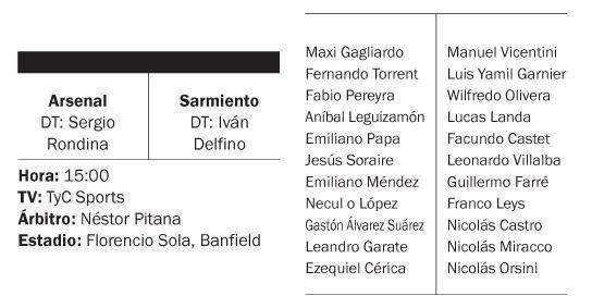 Arsenal venció a Sarmiento y es otra vez de Primera