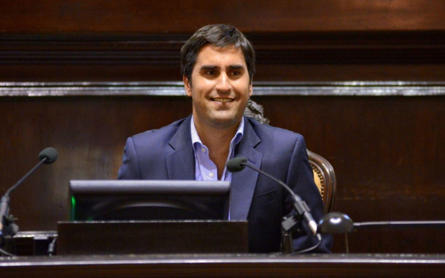 Manuel Mosca denunció extorsión y pidió licencia como presidente de la Cámara de Diputados