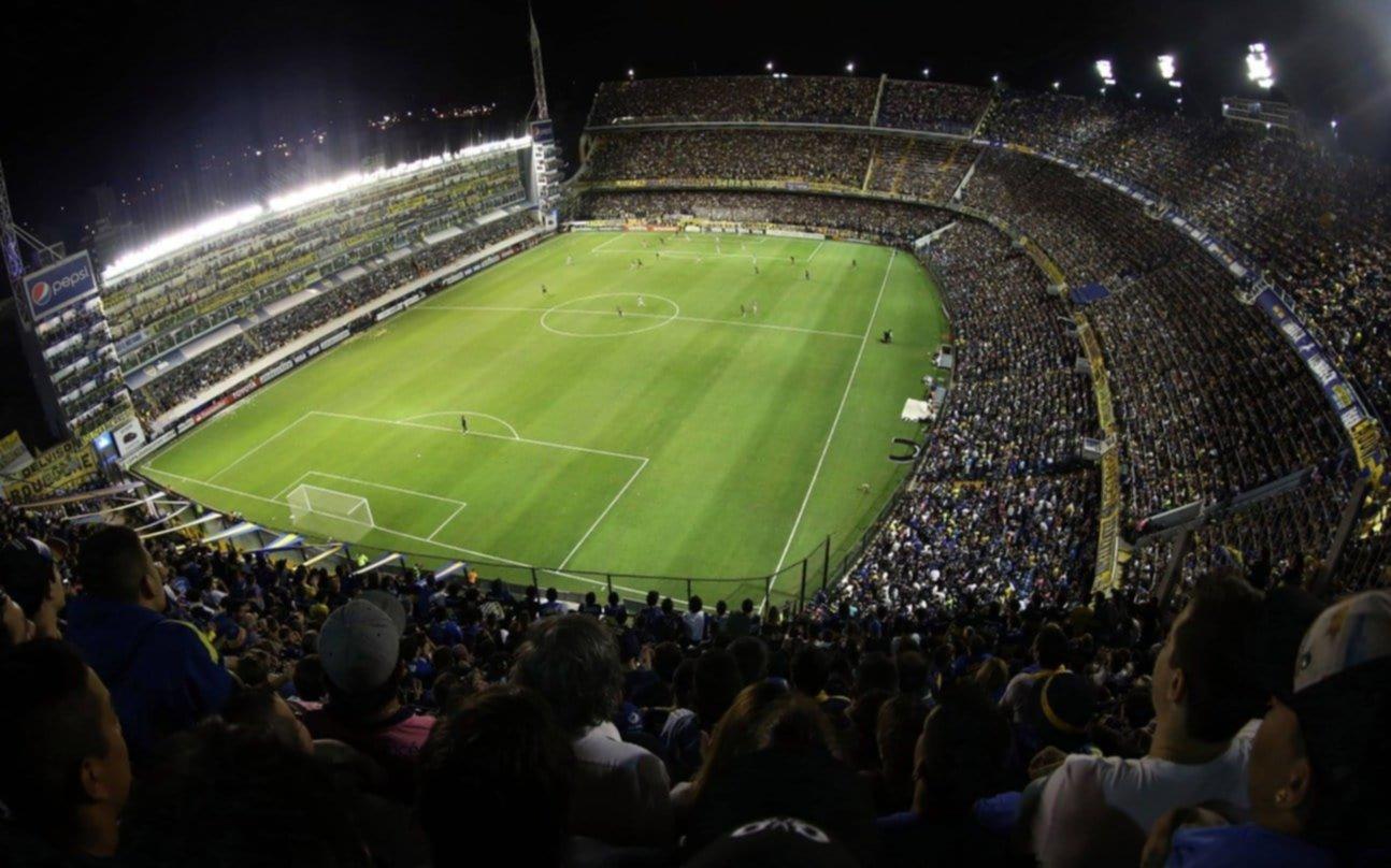 Fútbol parado pero polémico: Boca no quiere jugar más de noche en su cancha