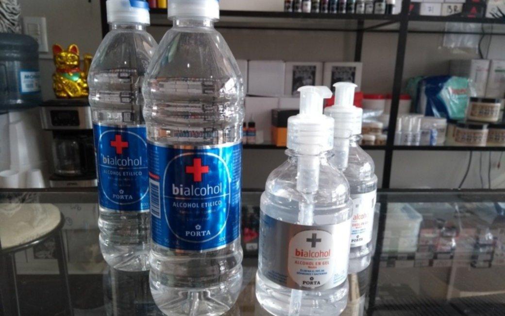 En plena pandemia, en La Plata es casi imposible conseguir alcohol líquido
