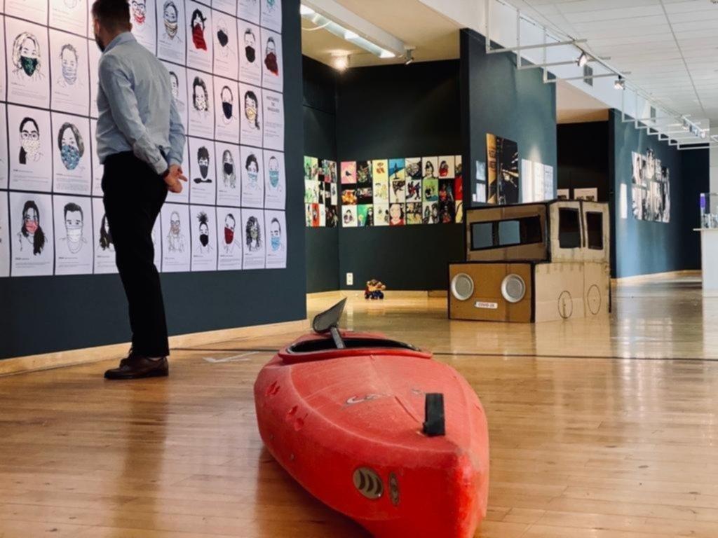 El confinamiento tiene su museo temporal en Bruselas