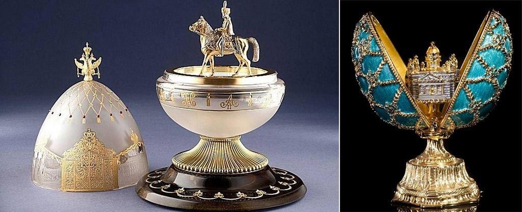 Fabergé: el orfebre de los huevos de oro imperiales