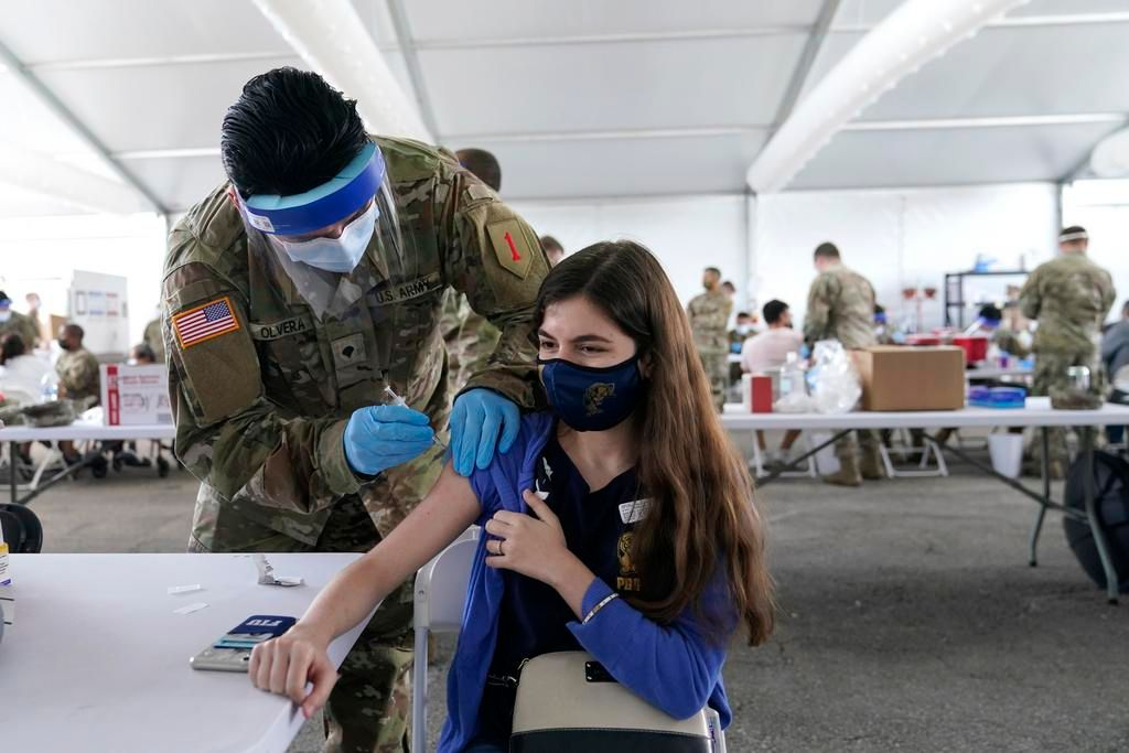 Florida ya vacuna a todos los adultos contra el coronavirus