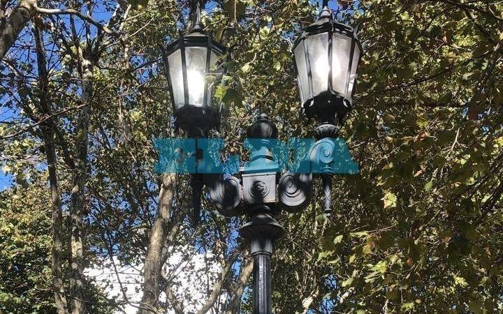 Denuncian que luminarias permanecen encendidas a toda hora en calle 53, entre 14 y 19
