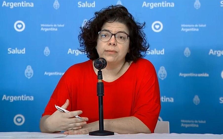 Qué dijo la ministra de Salud Carla Vizzottisobre las nuevas medidas