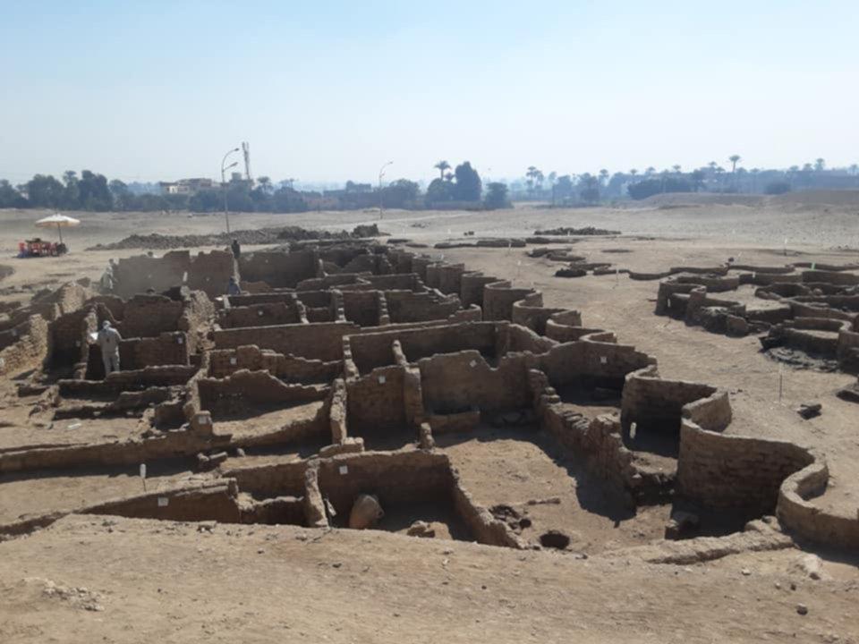 Descubren en Egipto una ciudad perdida de hace 3.000 años