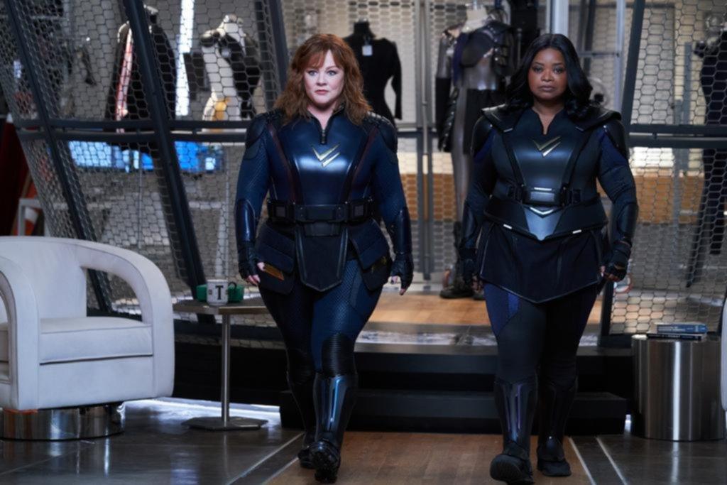 """""""Patrulla Trueno"""": una comedia de superheroínas poco convencionales"""
