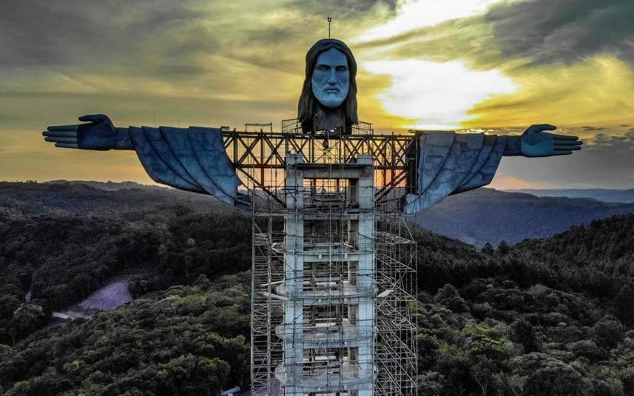 Brasil tendrá una nueva estatua de Cristo: será más alta que la de Río de Janeiro