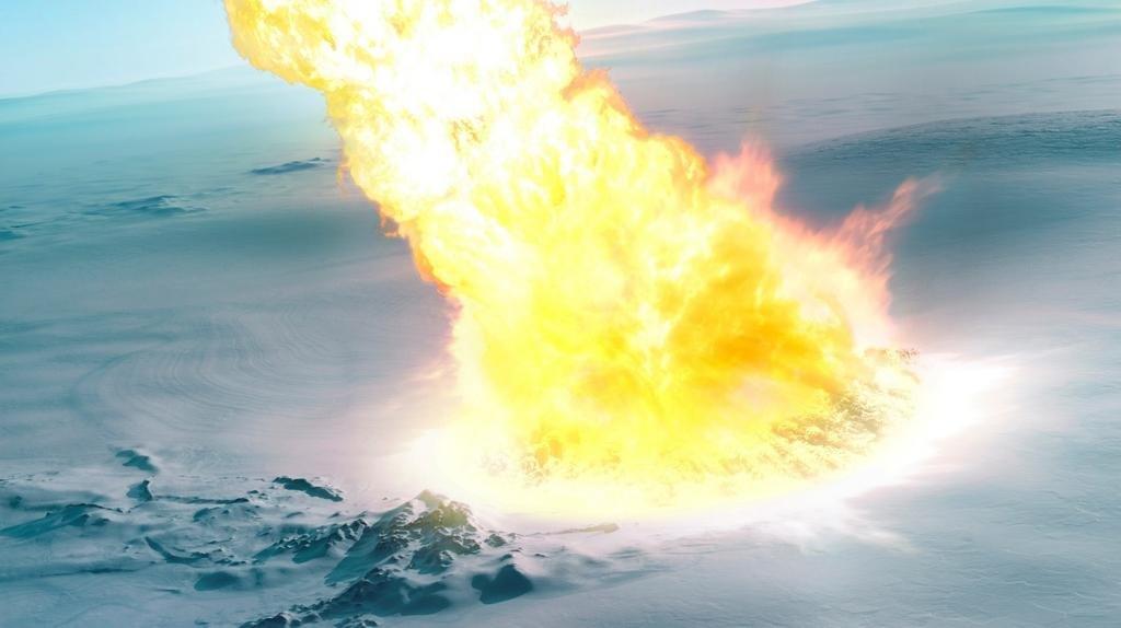 Nuevo hallazgo: una explosión de meteorito devastó parte de la Antártida hace 430.000 años
