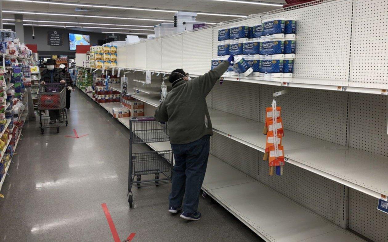 Los estadounidenses tienen demasiado papel higiénico: tras el boom, se ralentizan las ventas