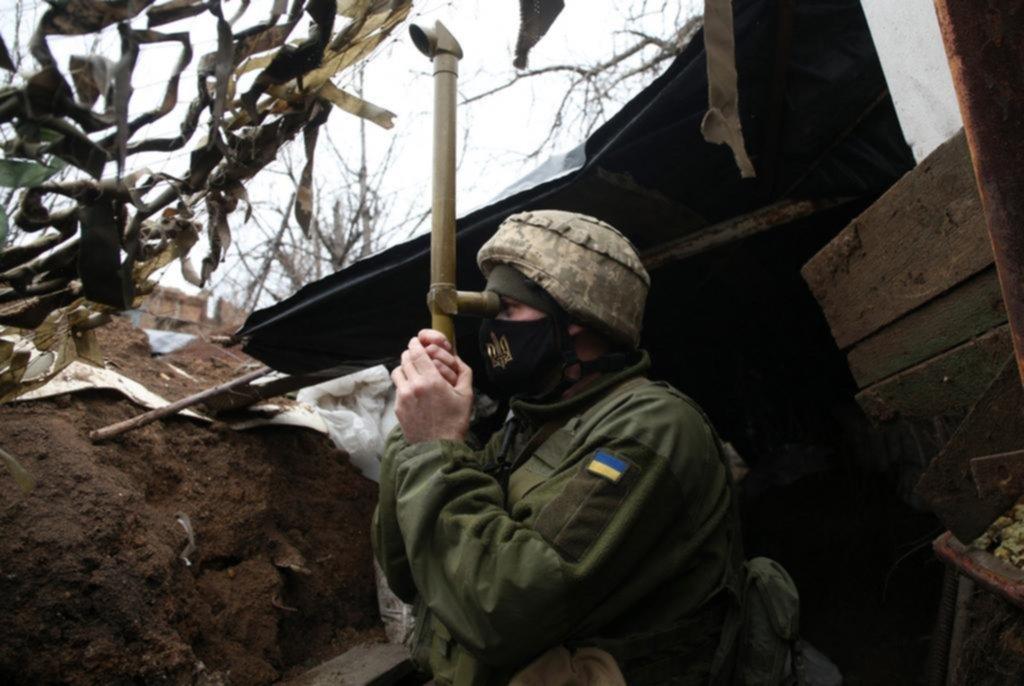 Tropas rusas y gran tensión en la frontera con Ucrania