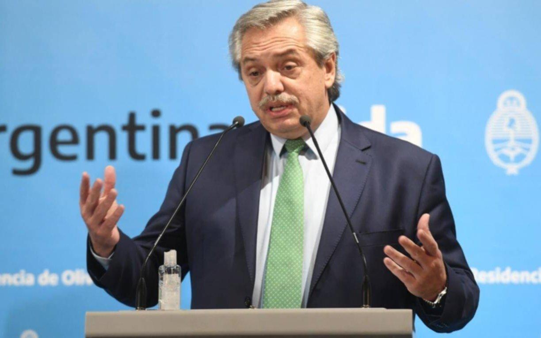 Alberto Fernández anunciará hoy nuevas restricciones: limitaría la circulación a partir de las 20
