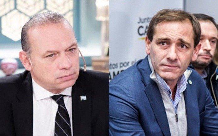 En medio de los chispazos, Berni y Garro compartirán acto en La Plata