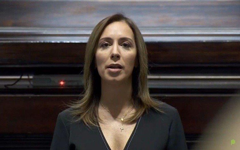 """María Eugenia Vidal: """"El Presidente no admite que se equivocó, no tenemos un plan de vacunación que haya funcionado"""""""
