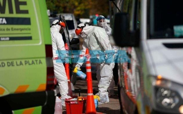 La Plata registró 842 contagios y 17 muertes en las últimas 24 horas