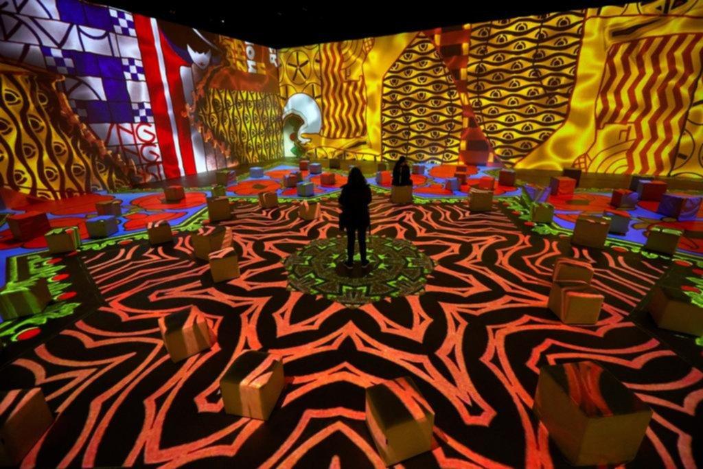 El universo de Klimt, en modo digital