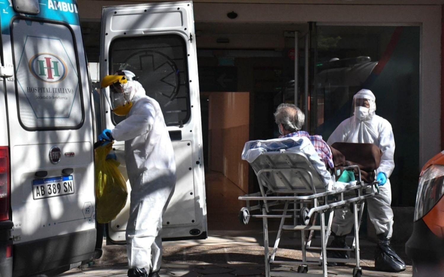 Coronavirus en Argentina: 20.461 nuevos casos y otras 248 muertes