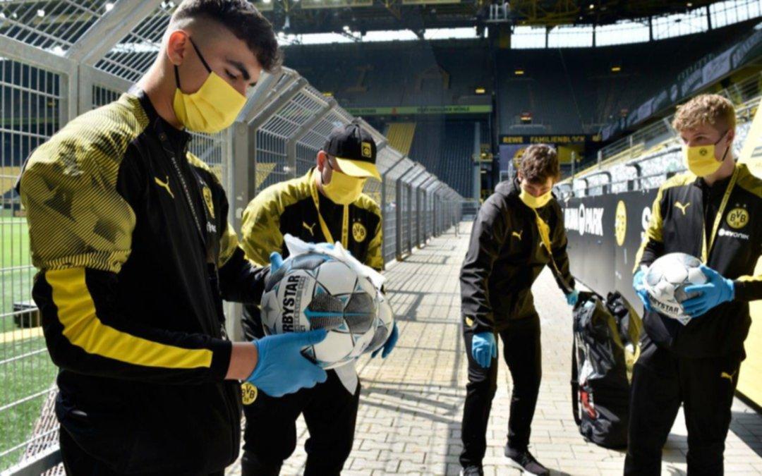 Alemania pondrá a los equipos de fútbol en cuarentena estricta por la suba de contagios