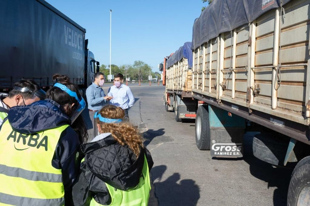 El 10% de los camiones que transportan granos llevaban 450 toneladas sin declarar