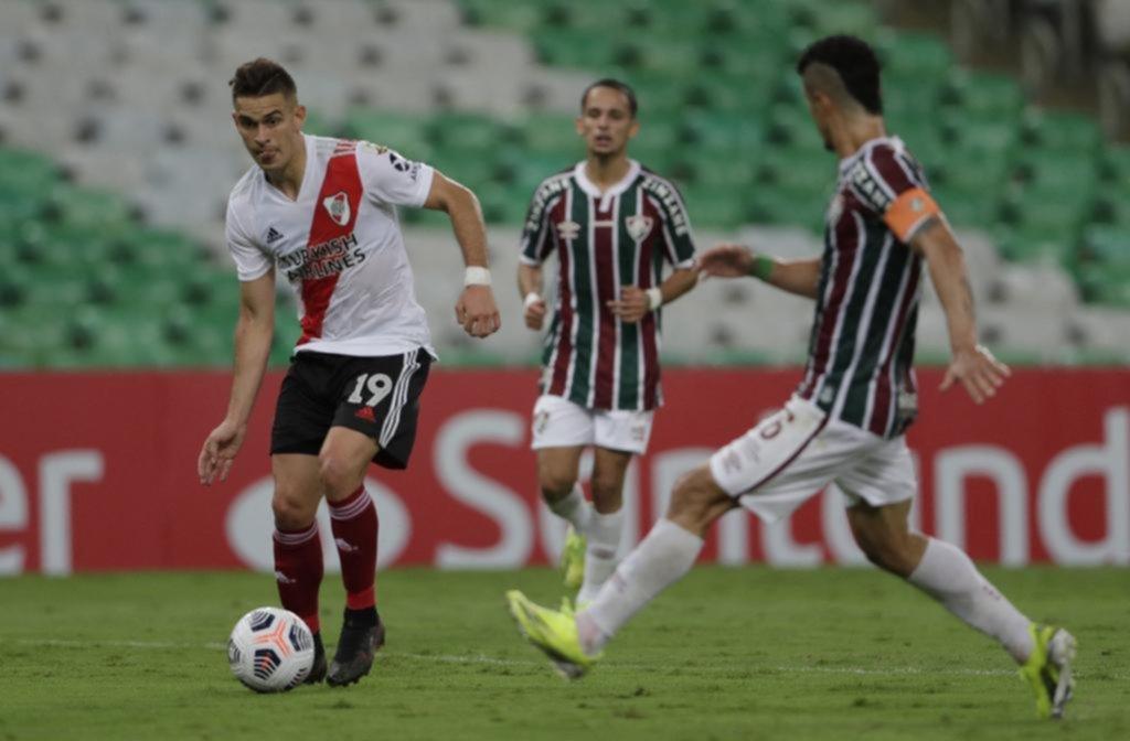 River se quedó en el complemento y Fluminense se lo empató