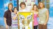 """El segundo disco de """"Casi Angeles"""" alcanzó el platino"""