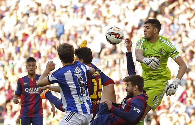 Rulli la rompió y en Barcelona fueron puros elogios