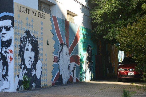 Habilitan espacios para el arte callejero