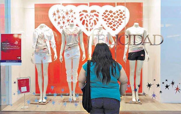 El 65 por ciento de los argentinos tiene dificultades para conseguir ropa de su talle