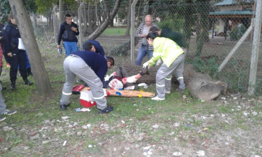 Murió el hombre baleado cuando le robaron la moto en San Carlos