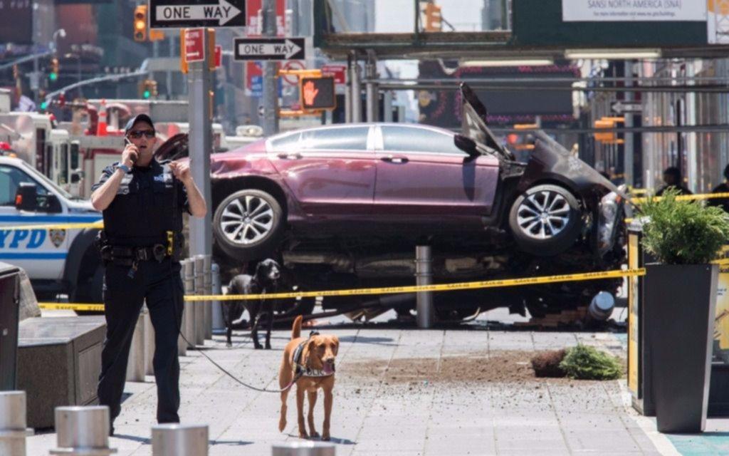 Dan a conocer el video del hombre que atropelló a 25 personas en Times Square